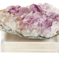 "Amethyst Crystal on  4"" Base, Small, Rocks, Crystals, Minerals & Petrified Wood"