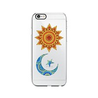Sun and Moon Transparent Silicone Plastic Phone Case for iphone 6 _ LOKIshop (iphone 6)