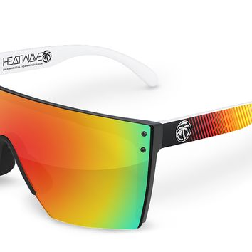 Lazer Face Sunglasses: Daytona Redline Customs