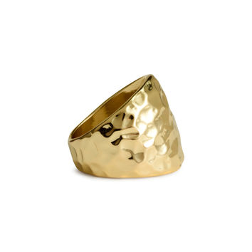 H&M - Hammered Ring
