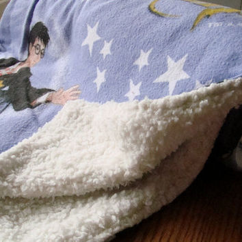 Harry Potter baby Blanket by Platipuses on Etsy