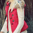 Cle Elum Vest in Red