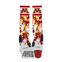 Custom Nike Elite Socks - Minnesota Golden Gophers Custom Nike Elites - Minnesota Socks, Custom Elites, University of Minnesota