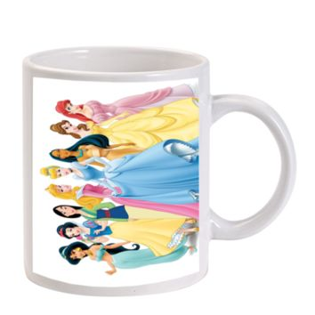 Gift Mugs | Disney Princess Ceramic Coffee Mugs
