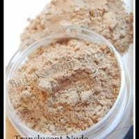 Translucent Nude Mineral Loose Powder Foundation Fair to Light