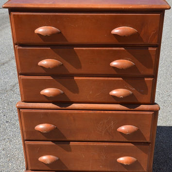 Vintage Dresser, Chest of Drawers, Custom Paint...
