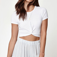 LA Hearts Twist Front T-Shirt at PacSun.com
