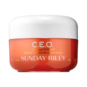 C.E.O. C + E antiOXIDANT Protect + Repair Moisturizer - Sunday Riley | Sephora
