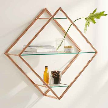Emilie Diamond Shelf