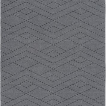 Surya Ashlee Solids and Tonals Gray ASL-1017 Area Rug