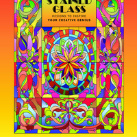 Stained Glass: Adult Coloring Book