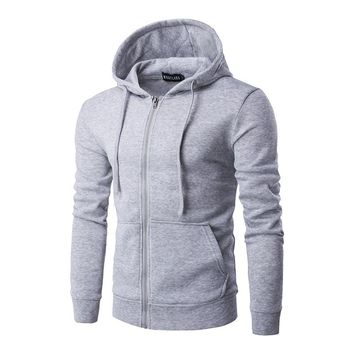 2017 men's classic hoodie apparel top clothes mens Spring & Autumn Casual coat male Hoodies & Sweatshirts Zip Up Hoody Jackets