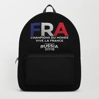 FRANCE | CHAMPIONS DU MONDE | VIVE LA FRANCE | Russia 2018 Backpack by paulosilveira