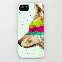 Cherokee Wolf II iPhone & iPod Case by dogooder