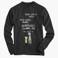 Rick and Morty Long Sleeve Tee