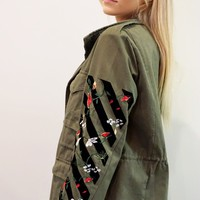 """Arthouse"" Army Jacket"
