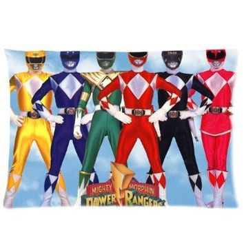 "Power Rangers Pillowcase Standard Size 20""x30"" PWC1501"