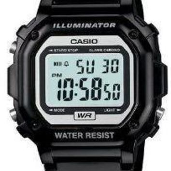 Casio Glossy Black Digital Watch
