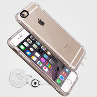 Scratch Resistant Shockproof Clear Case Cover for iPhone 7 6 6s Plus Gift