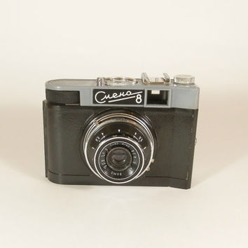 Vintage Smena 8 Lomo Camera, Soviet USSR Photo Camera, Travel Camera, 35mm film viewfinder,  woorking except Self-timer