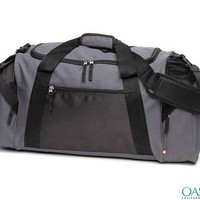 Grinding Grey Duffle Sports Bag - Oasis Bags