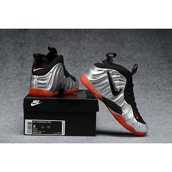Nike Air Foamposite Pro Black/Silver/Red