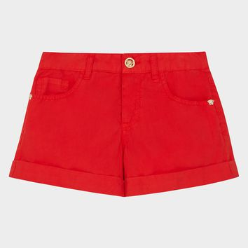 Young Versace Young Versace Bermuda Shorts for Girls | US Online Store
