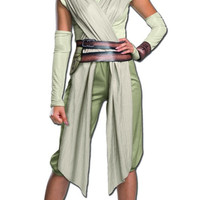 Womens Star Wars Deluxe Rey Costume