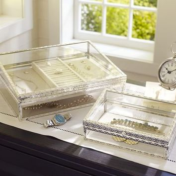 Antique-Silver Jewelry Boxes