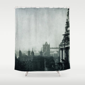 London Shower Curtain by ingz