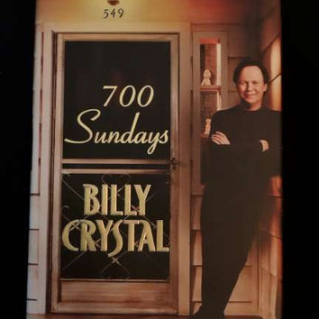 700 Sundays by Billy Crystal - First Edition (stated) 2005