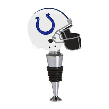 Indianapolis Colts Football Helmet Wine Bottle Stopper
