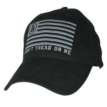 Don't tread on Me Flag - embroidered Low Profile Hat