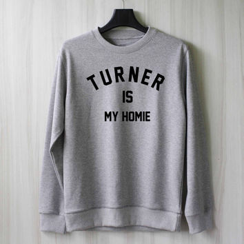 Alex Turner is My Homie Sweatshirt Sweater Shirt – Size XS S M L XL