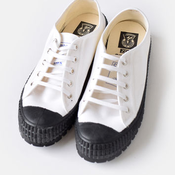 ZDA (ゼットディーエー) climber sole canvas sneakers 2100f-hm