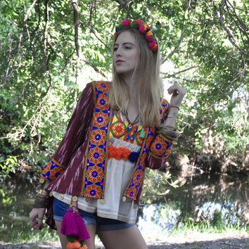 Gypsy Ikat Jacket