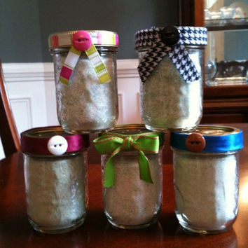 Decorative Refillable Bath Salt Shakers