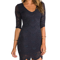 Nightcap REVOLVE Exclusive Elena Dress in Charcoal