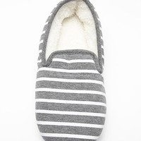 Heathered Stripe Slippers