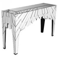 Crystal Mirrored Console FM631   Heavenly Home