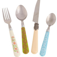 Pastel Cutensils Flatware Set by ModCloth