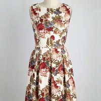 Chic Seminar Dress in Garden | Mod Retro Vintage Dresses | ModCloth.com