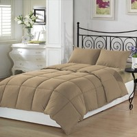 Tan Twin Extra Long Comforter Set By Ivy Union