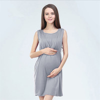 Maternity Dresses Clothes for Pregnant Women Maternity Knee-length Evening Nursing Dress pregnant Formal pregnancy clothing New