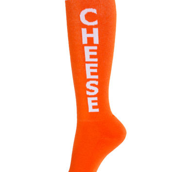 Sock Dreams - Cheese Knee High