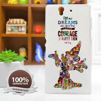 Art Disney Case Disney Quote Phone Case iPhone 6 / 5c / 5/5s / 4/4s, Galaxy S6, S5, S4, S3, Xperia Z,Z1,Z2 cases