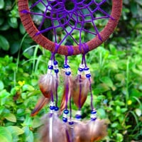 Mini Purple Dream Catcher
