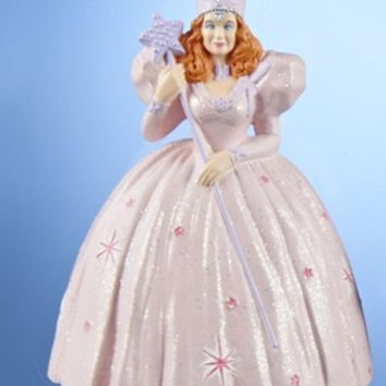 """4.25"""" The Wizard of Oz Glinda The Good Witch Christmas Ornament"""