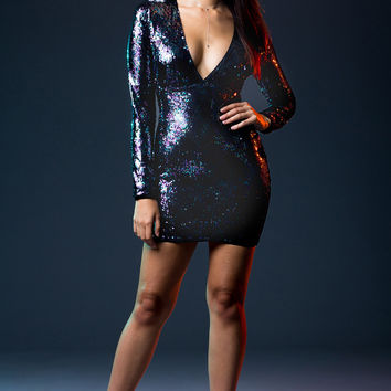 So Fly Sequin Dress