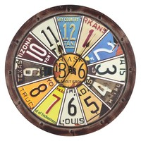 Cooper Classics Hildale 26.5 in. Wall Clock | www.hayneedle.com